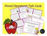 Task Cards: Mixed Operations