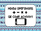Mixed Operations (addition, subtraction, multiplication, d