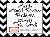 Mixed Practice Problem Solving Task Cards