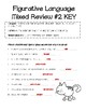 Mixed Review #2 for simile, metaphors, and personification worksheet