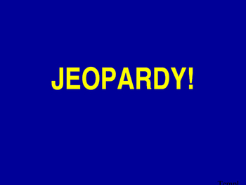 Mixed Review Jeopardy