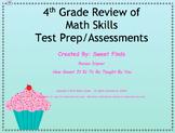 Mixed Review of 4th Grade Math Skills