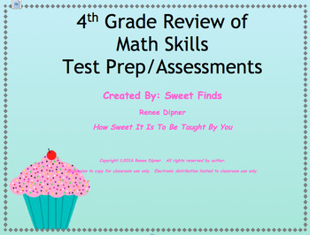 Mixed Review of 4th Grade Math Skills