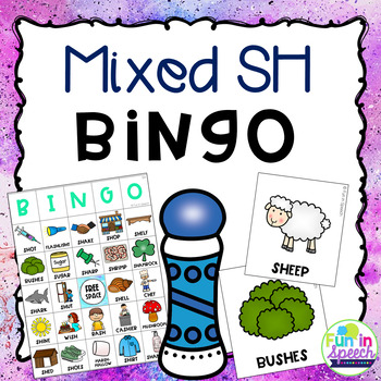 Mixed SH Articulation BINGO Activity