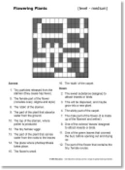 Mixed Science Crosswords