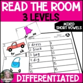 Short Vowels Read the Room/Write the Room (Differentiated)