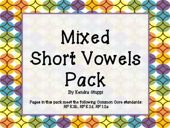 Mixed Short Vowels Pack