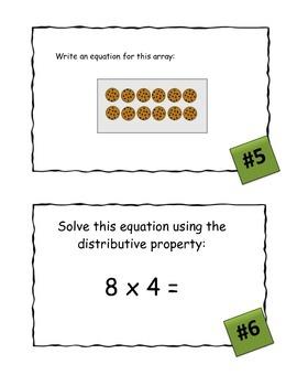 Mixed Skills Multiplication Scavenger Hunt