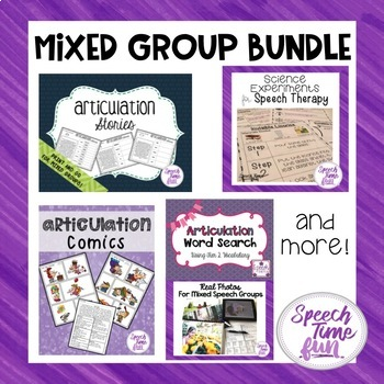 Mixed Speech Group BUNDLE