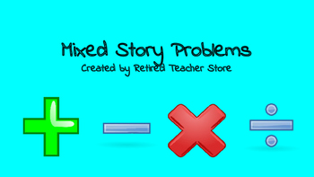 Mixed Story Problems
