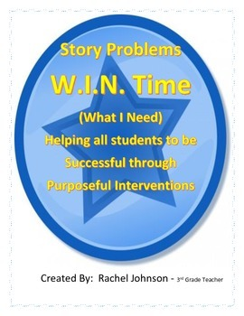 Mixed Story Problems Intervention/Mini Lessons