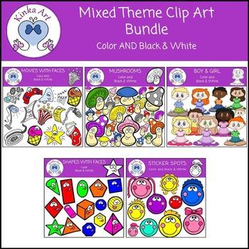 Mixed Theme Clip Art Bundle
