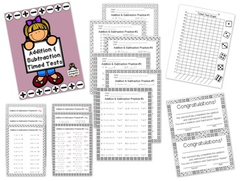 Mixed Timed Test Bundle
