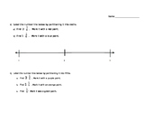 Mixed Unit Fractions on a Number Line