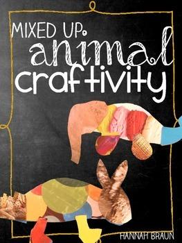 Mixed Up Animal Craftivity FREEBIE