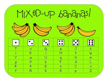 Roll & Read: Mixed-Up Bananas