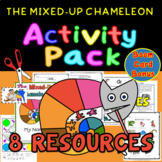 Mixed-Up Chameleon Mini-book PLUS 5 Resources ACTIVITY PACK