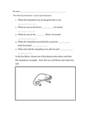 """""""Mixed Up Chameleon"""" by Eric Carle (Harcourt) Easy Comprehension"""