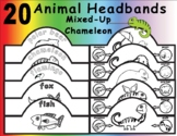 Mixed-Up Chameleon by Eric Carle: Headbands