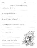 Mixed Up Christmas Sentences / Writing Sentences