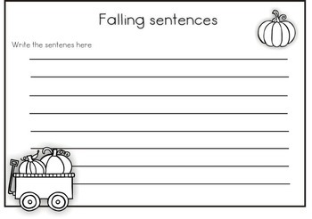 Mixed-Up Fall Sentences