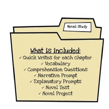 Mixed Up Files Novel Unit Study