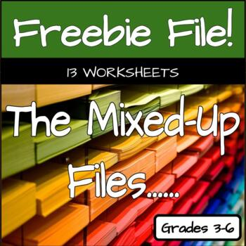 The Mixed-Up Files... - 13 Vocabulary and Comprehension Worksheets