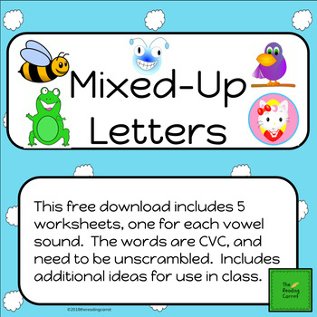 Mixed Up Letters 2