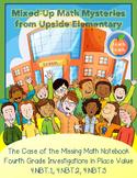 4th Grade Place Value Math Mystery (4.NBT.1, 4.NBT.2, & 4.NBT.3)