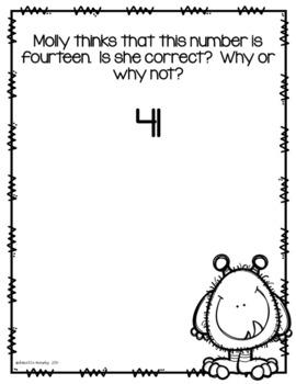 Kindergarten Critical Thinking Math Journal Prompts
