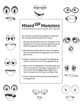 Mixed Up Monsters: Understanding Area and Perimeter with Tangrams