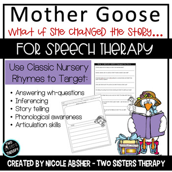 Mixed Up Mother Goose - Not Your Every Day Nursery Rhyme