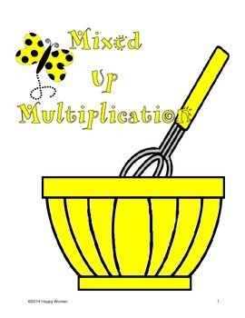 Mixed Up Multiplication