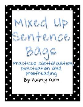 Mixed Up Sentence Bags