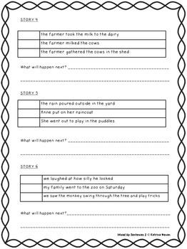 Mixed Up Sentences 2
