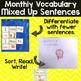 Mixed Up Sentences: April Fools