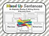 FREE Mixed Up Sentences {A Hughes Design}