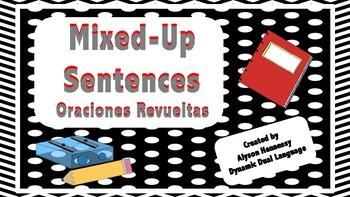 Mixed Up Sentences-Spanish Edition