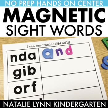 Mixed Up Sight Words (EDITABLE)