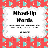 Mixed Up Words