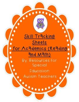 Mixed VB Box - Skills Tracking Sheets - Academics - Autism / ABA