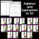 Mixed Vertical Equations Addition and Subtraction: Write the Room [[2 sets!]]