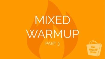 Mixed Warmup Part 3 | Physical Education Exercise Presentation