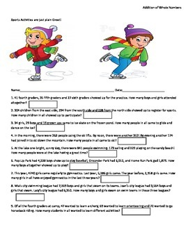 Mixed Word Problems