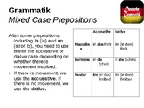 Mixed case prepositions / Berlin / Future tense with werden