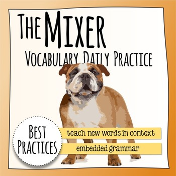 Mixer  Vocabulary Extension - HMH Collections
