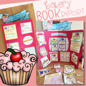 Mixin' It Up Bakery Inspired Book Report- Any Novel