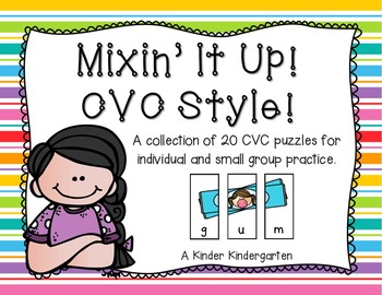 Mixin' It Up!  CVC Style!