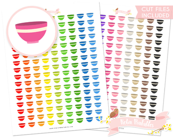 Mixing Bowl Printable Planner Stickers