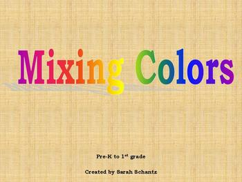 Mixing Colors Power Point Presentation